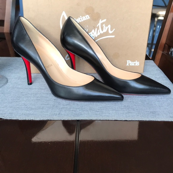 size 40 a7f48 bc300 LOUBOUTIN APOSTROPHY PUMP NWT